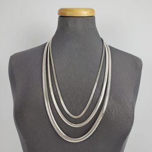Jewelry - Silver Chain Layered Necklace